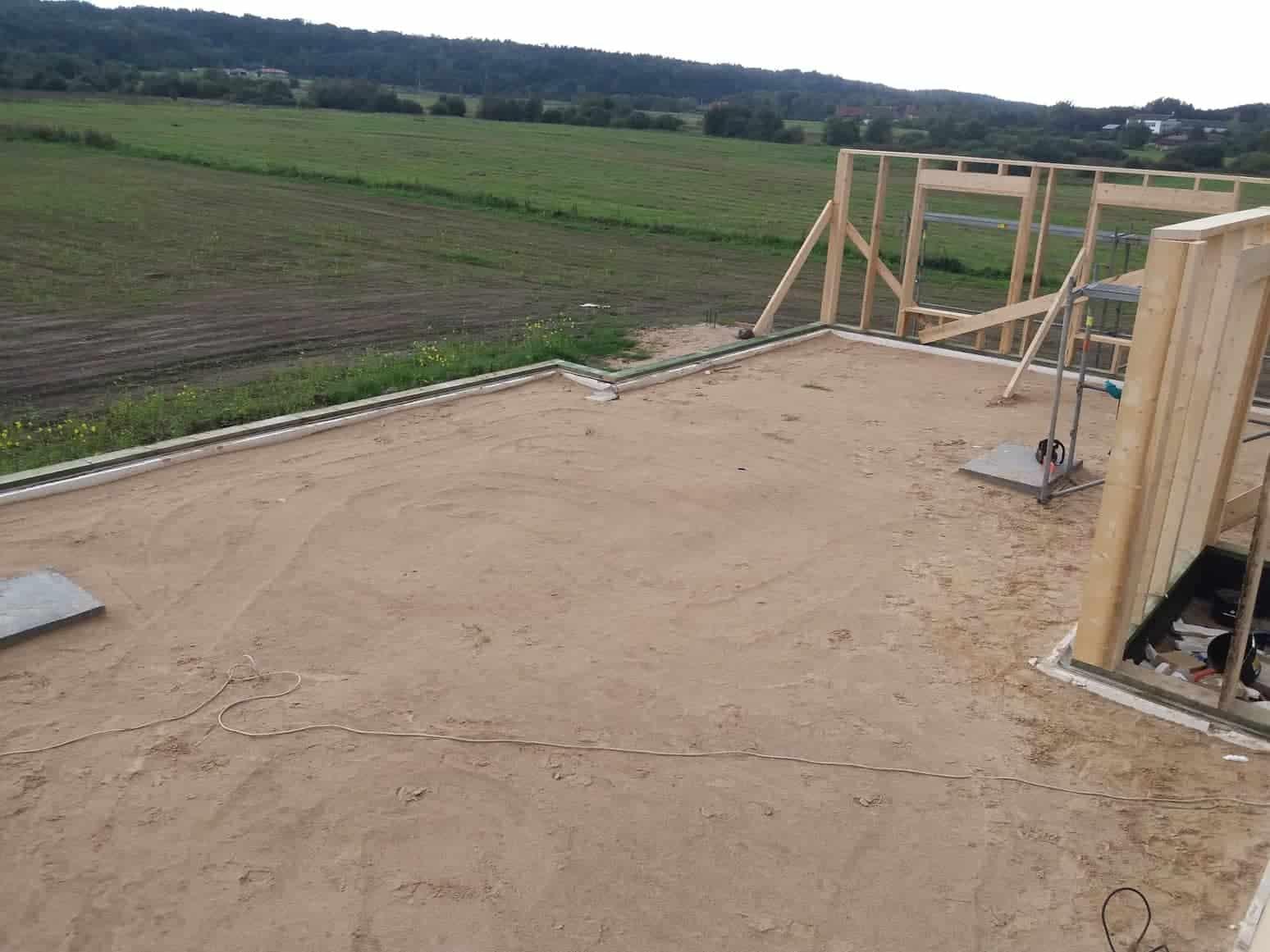 Karkasinio namo statybos procesas