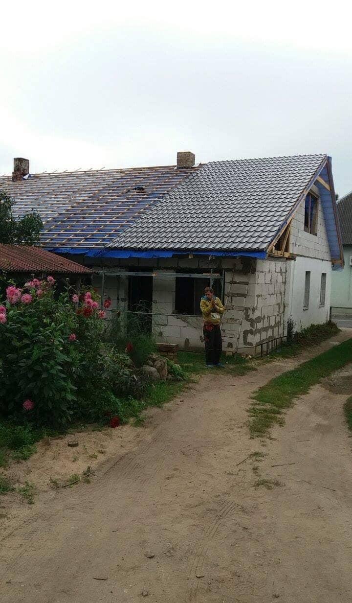 namo stogo atnaujinimas